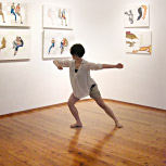 Kanako Sako(dance) at Opening performance of Conjunctions by Arthur Poor
